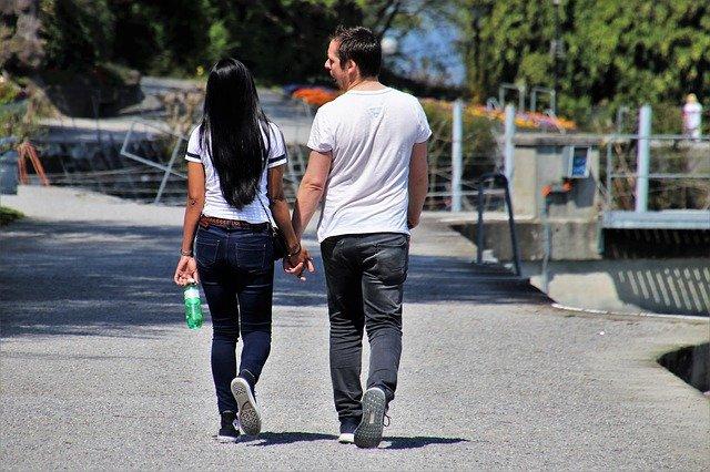 procházka páru