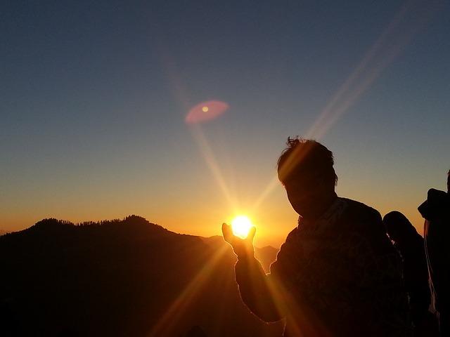 chytit slunce
