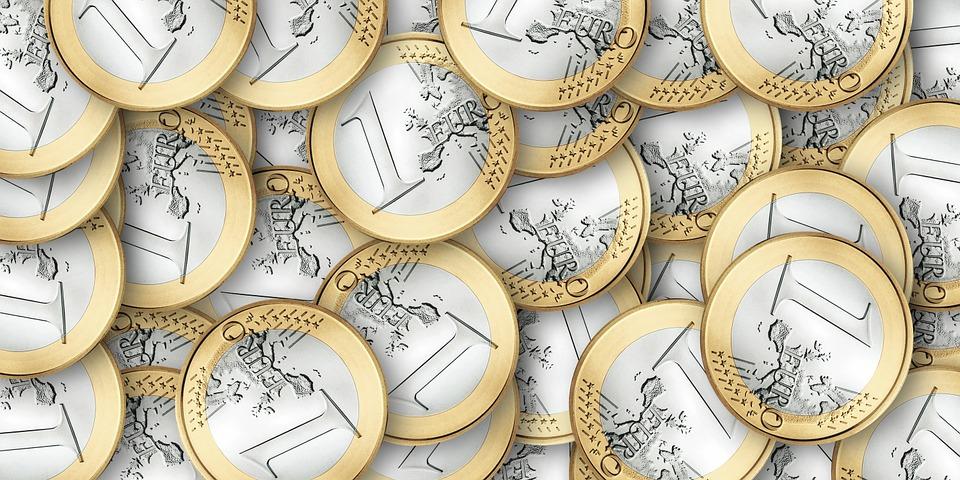 jednoeurové mince