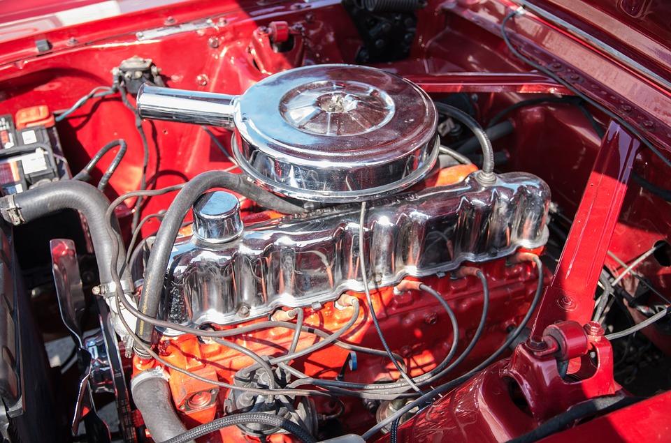 pohled do motoru
